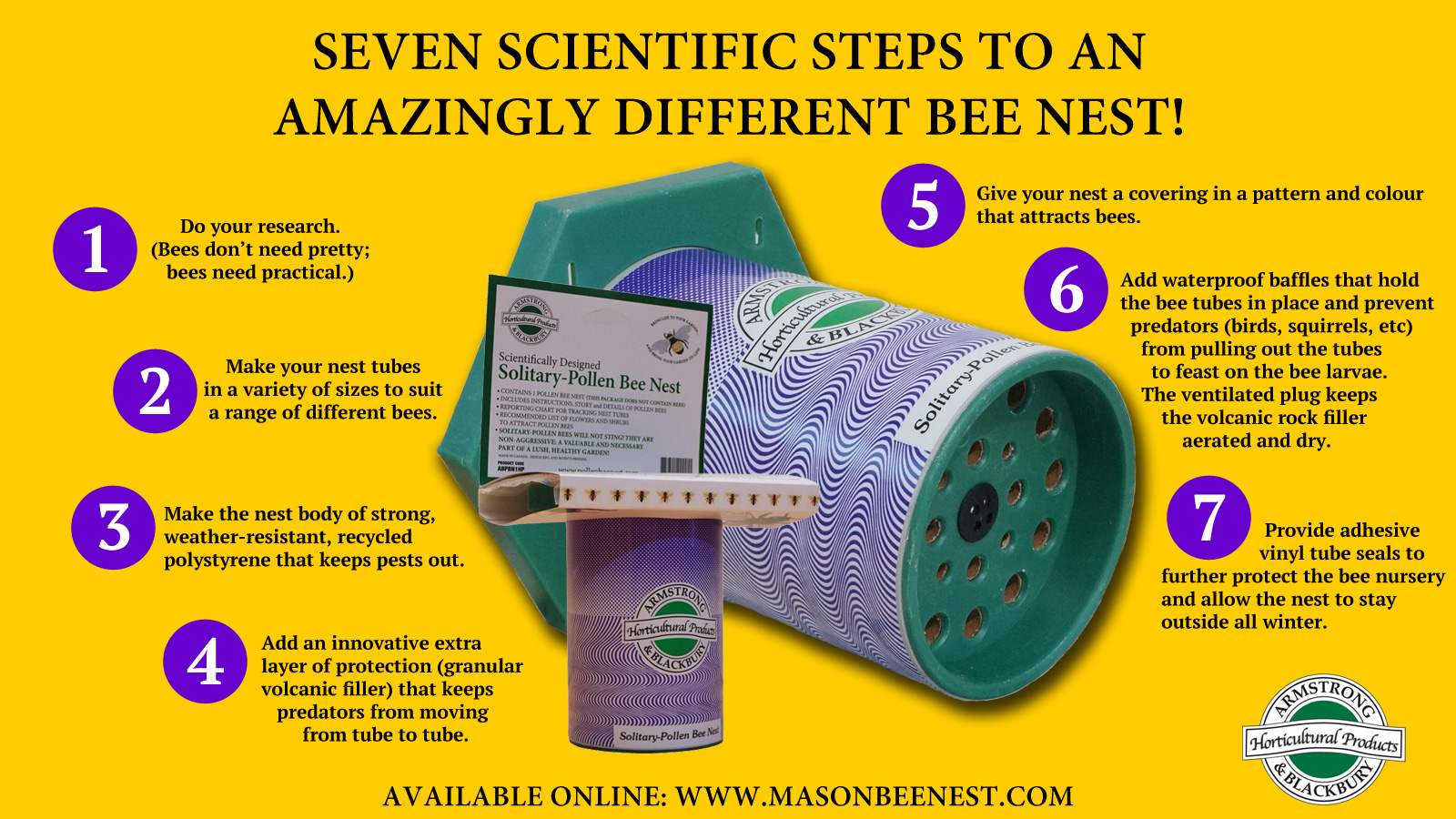 Seven Scientific Steps to an Amazingly Different Bee Nest